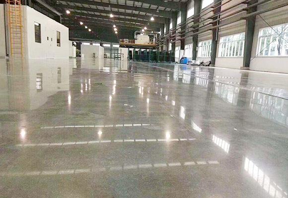 無錫電子廠房超平地坪